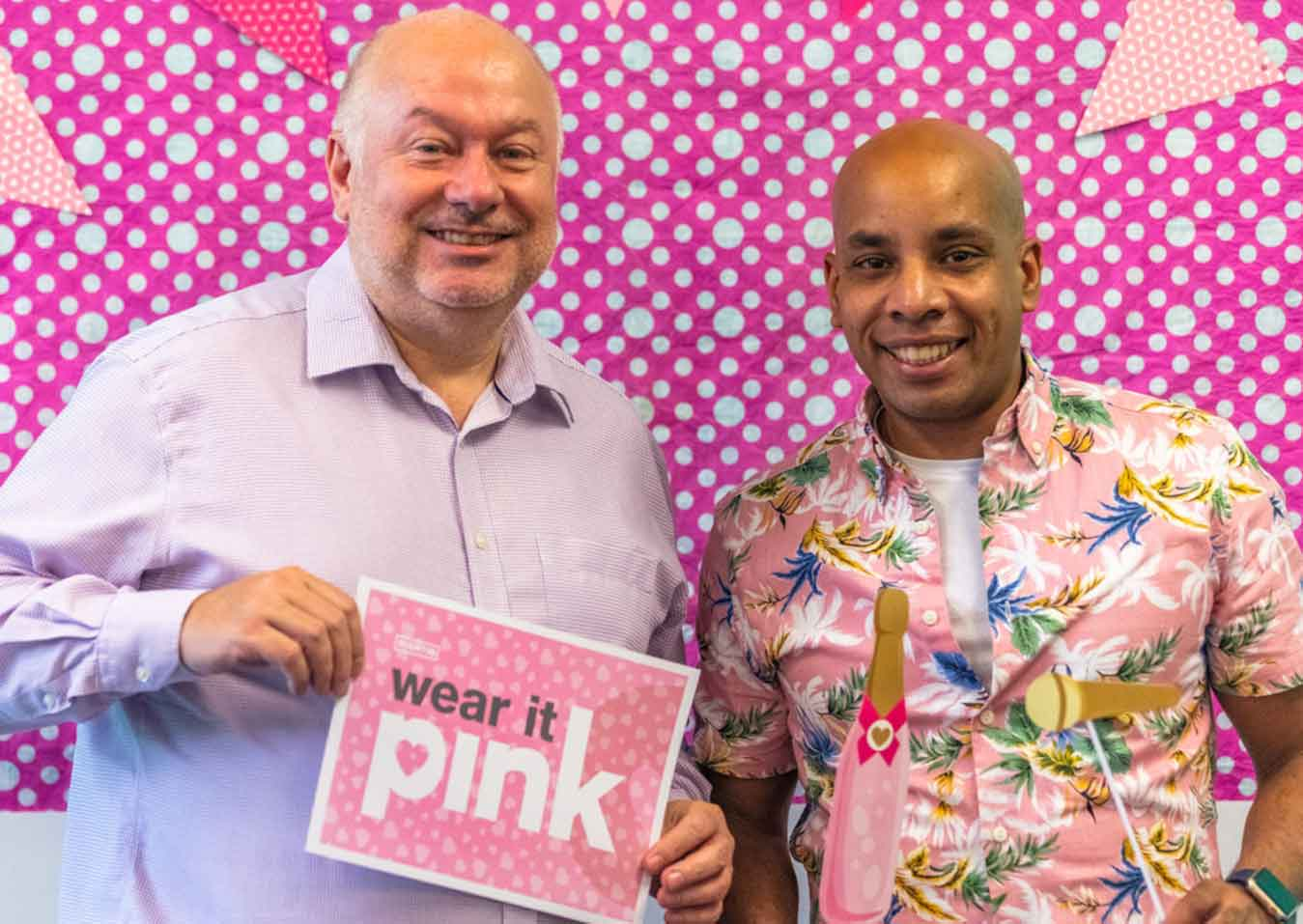 charity Wear it Pink in Sheffield
