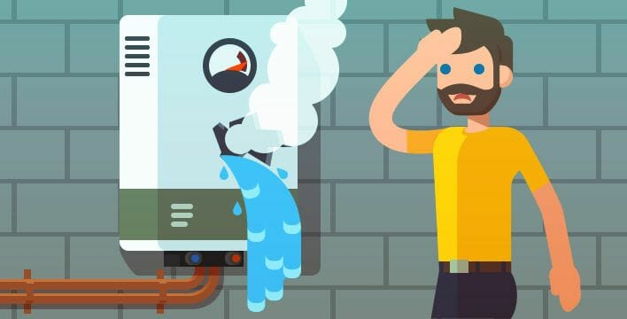 re-pressuirise your boiler with our easy advice in Glasgow